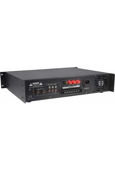 Nwork F-6150 150 W 6 Zone Volume Kontrol Hat Trafolu Mikser Amplifikatör