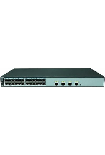 Huawei S1720-28GWR-PWR-4P 24 Ethernet 10/100/1000 Ports 4 Gı G Sfp Poe+ 370W Poe Ac Power Support