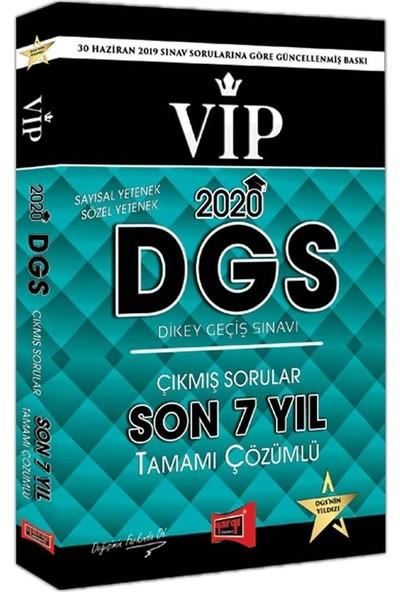 Yargı Yayınları 2020 DGS VIP Sayısal-Sözel Yetenek Son 7 Yıl Tamamı Çözümlü Çıkmış Sorular