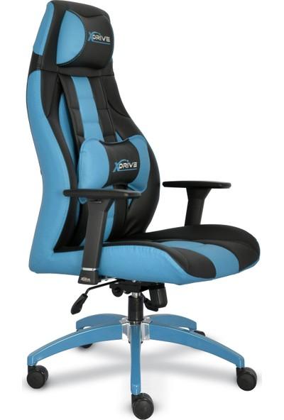 xDrive 1453 Profesyonel Oyun | Oyuncu Koltuğu Mavi/Siyah