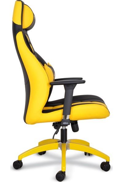 xDrive 1453 Profesyonel Oyun | Oyuncu Koltuğu Sarı/Siyah