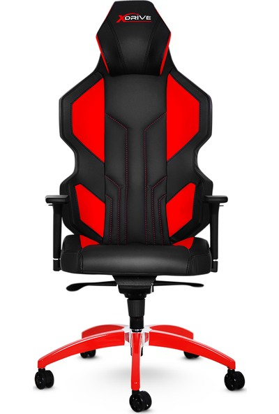 xDrive Anka Profesyonel Oyun   Oyuncu Koltuğu Kırmızı/Siyah