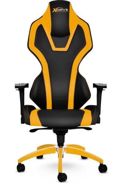 xDrive Bora Profesyonel Oyun | Oyuncu Koltuğu Sarı/Siyah