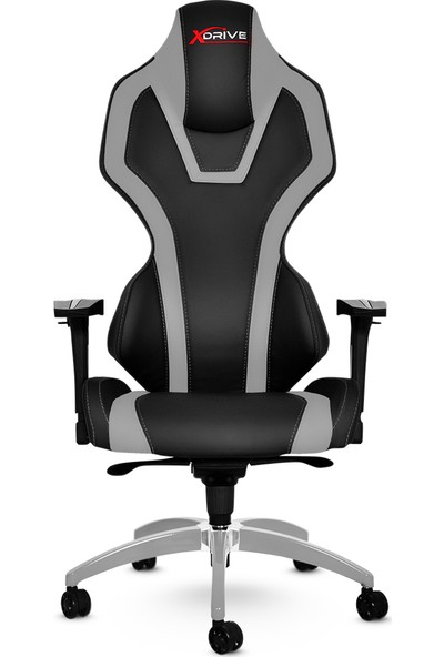 xDrive Bora Profesyonel Oyun | Oyuncu Koltuğu Gri/Siyah