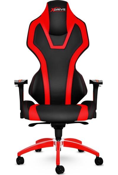 xDrive Bora Profesyonel Oyun | Oyuncu Koltuğu Kırmızı/Siyah