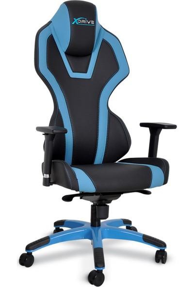 xDrive Bora Profesyonel Oyun | Oyuncu Koltuğu Mavi/Siyah