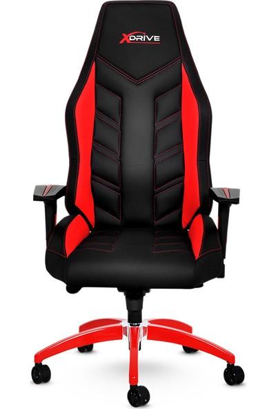 xDrive Fırtına Profesyonel Oyun   Oyuncu Koltuğu Kırmızı/Siyah