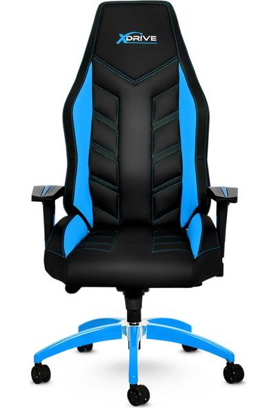 xDrive Fırtına Profesyonel Oyun | Oyuncu Koltuğu Mavi/Siyah