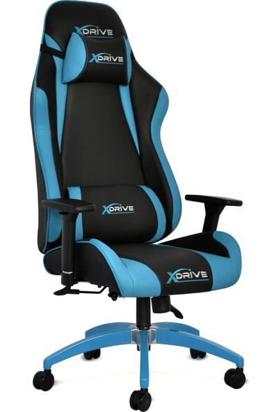 Xdrive Akıncı Profesyonel Oyun | Oyuncu Koltuğu Mavi/siyah