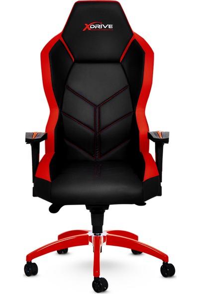 xDrive Kasırga Profesyonel Oyun | Oyuncu Koltuğu Kırmızı/Siyah