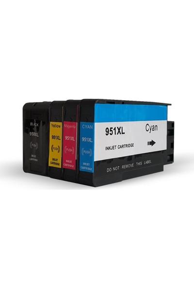 HP Officejet Pro 8600 4 Renk Kartuş Seti