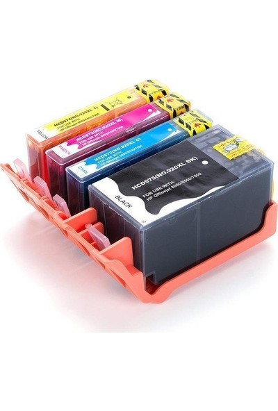 HP Officejet 6500 4 Renk Kartuş Seti