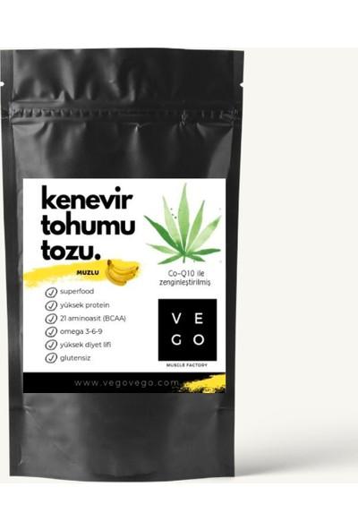Vegovego Protein Muzlu Kenevir Tozu + Koenzim