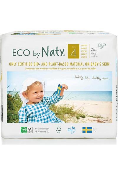 Eco By Naty Bebek Bezi - Maxi (No: 4) (7-18 Kg) - 26 Adet
