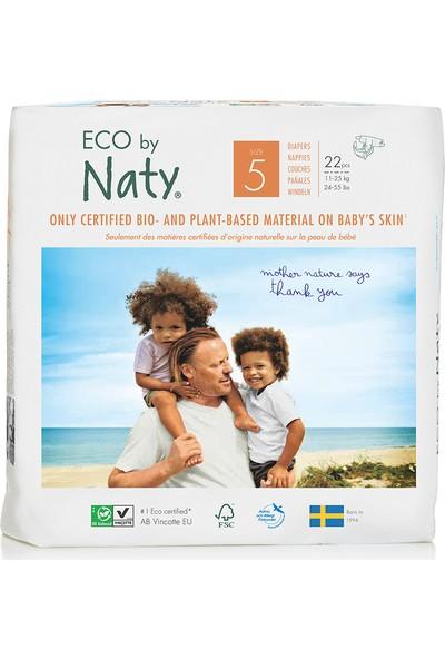 Eco By Naty Bebek Bezi - Junior (No: 5) (11-25 Kg) - 22 Adet