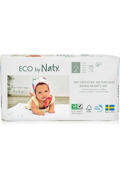 Eco By Naty Bebek Bezi - Mini (No: 2) (3-6 Kg) - 33 Adet