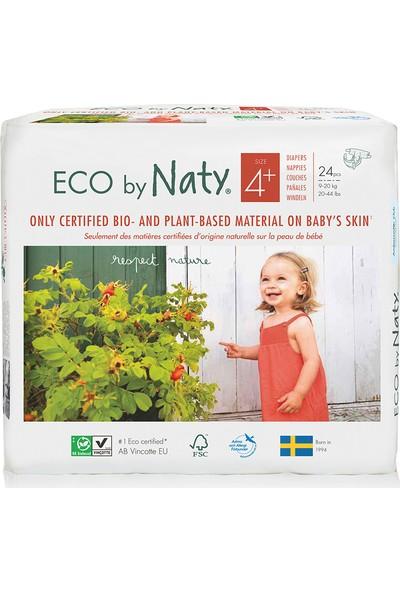 Eco By Naty Bebek Bezi - Maxi Plus (No: 4+) (9-20 Kg) - 24 Adet