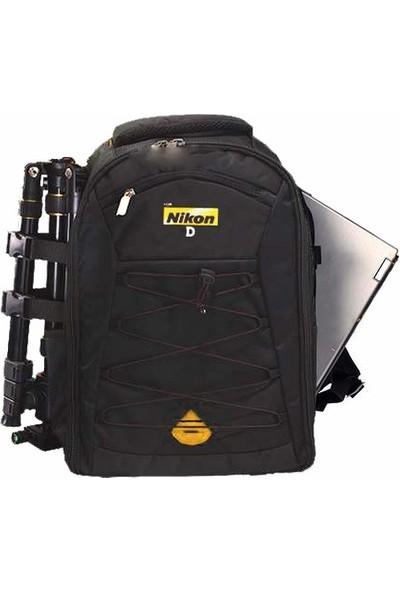Pdx Nikon Laptop Bölmeli Dslr Sırt Çantası