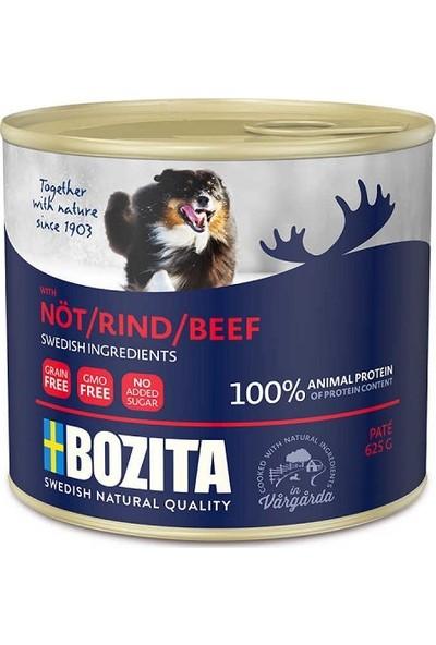 Bozita Tahılsız Sığır Etli Köpek Konservesi 625 g x 12 Adet