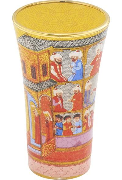 Müzedenal Shot Bardağı Sarı (Minyatür Koleksiyonu)