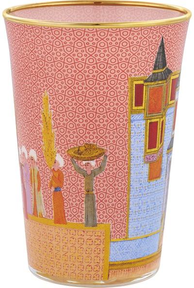 Müzedenal Su Bardağı Pembe (Minyatür Koleksiyonu)