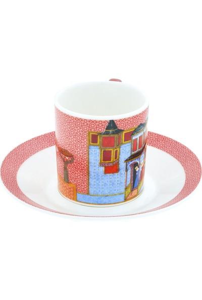 Müzedenal Kahve Fincanı Pembe (Minyatür Koleksiyonu)