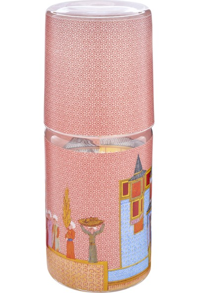 Müzedenal Başucu Sürahi Pembe (Minyatür Koleksiyonu)