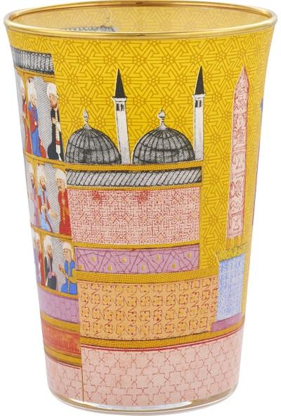 Müzedenal Su Bardağı Sarı (Minyatür Koleksiyonu)