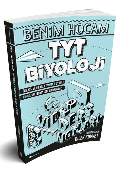 Benim Hocam Yayınları 2020 TYT Biyoloji Video Ders Notları - Dilek Kuvvet
