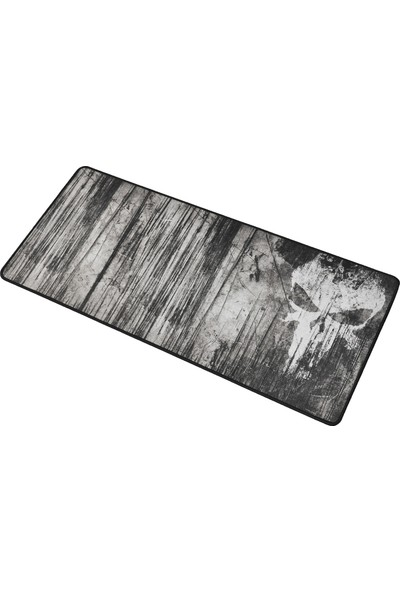 XRades Punisher Gri XL Gaming Oyuncu Mousepad 70 x 30 cm
