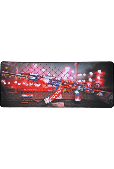 XRades Csgo Kırmızı AK47 XL Gaming Oyuncu Mousepad 70 x 30 cm