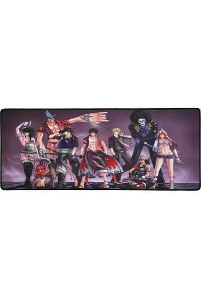 XRades One Piece Mor XL Gaming Oyuncu Mousepad 70 x 30 cm