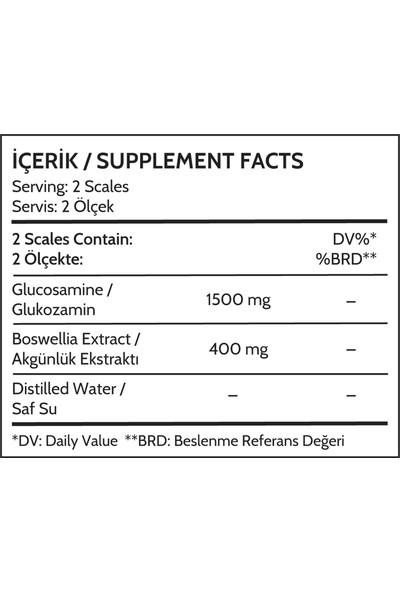 Biomet S1 Likit ve Bitkisel Glukozamin 500 ml