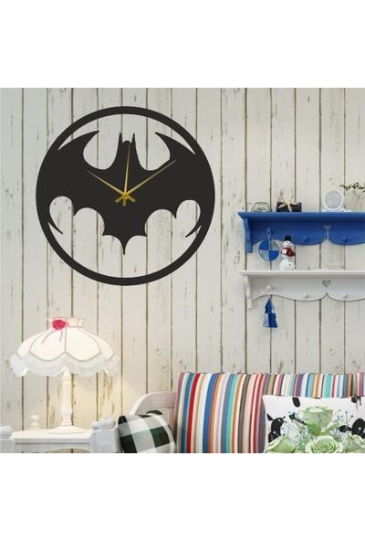 Hediyelikevi Ahşap Batman Temalı Duvar Saati