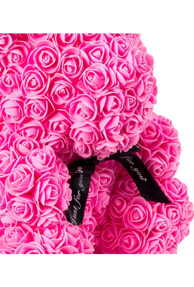 Solenzara FlowersTeddy Rose Pembe Güllü Solmayan Gül 40 cm