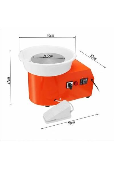 Claymac Çömlek Yapma Şekillendirme Seramik Kalıplama Makinesi