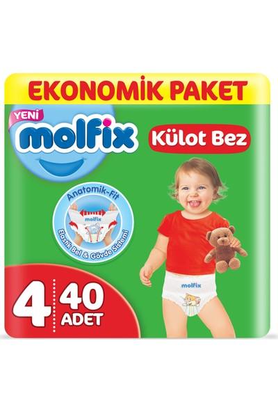 Molfix Külot Bez 4 Beden Maxi Ekonomik Paket 40 Adet
