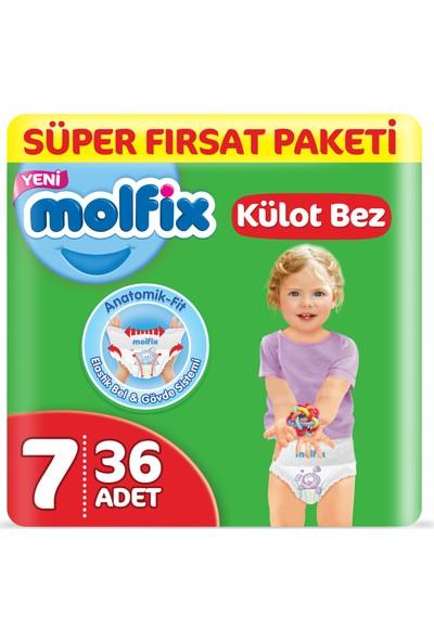 Molfix Külot Bez 7 Beden XX Large Süper Fırsat Paketi 36 Adet