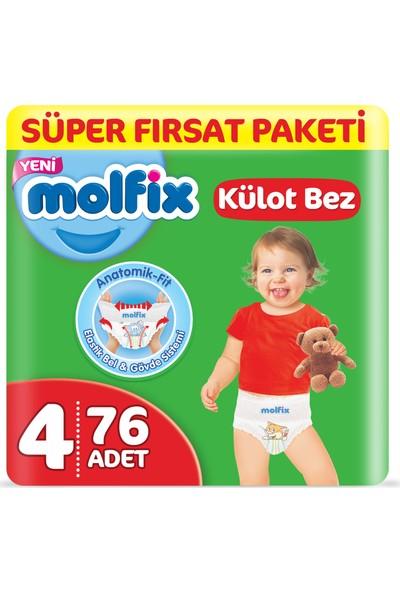 Molfix Külot Bez 4 Beden Maxi Süper Fırsat Paketi 76 Adet