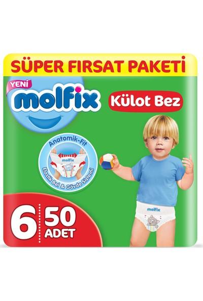 Molfix Külot Bez 6 Beden Ekstra Large Süper Fırsat Paketi 50 Adet