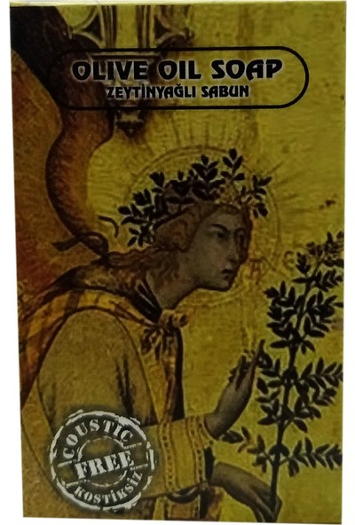 Saba Kostiksiz Zeytinyağlı Sabun 125 gr