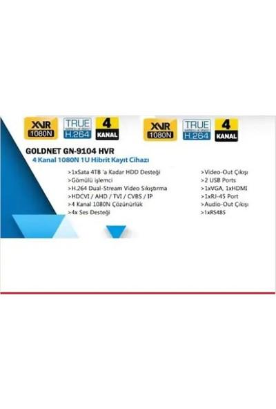 Goldnet GN-9104 Hvr (5 In 1) 4 Kanal Dvr Kayıt Cihazı