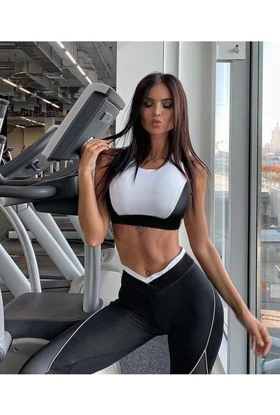 Dampigo Sporcu Tayt Takım (Yoga-Fitness-Pilates-Koşu) Dm 2124