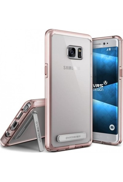 VRS Galaxy Note 7 / Note FE Crystal Bumper Kılıf Blue Coral