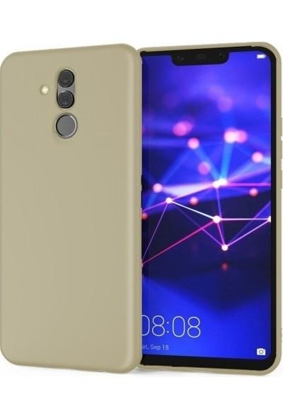 CoverZone Alcatel 3V Kılıf Premier Silikon Kılıf + Nano Ekran Koruma -PRE420 Altın