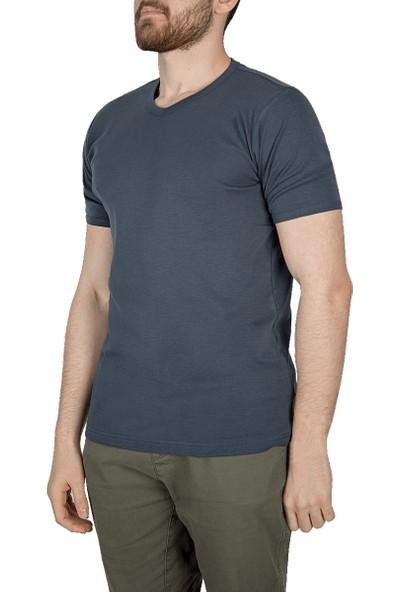 Lescon 18S-1244-18N Antrasit Erkek T-Shirt
