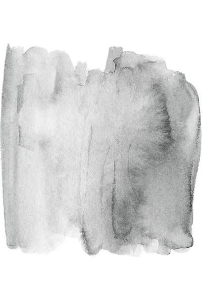 Henge Gri Fırça Darbe Desenli Duşperdesi