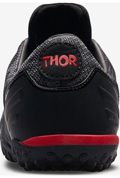 Lescon Thor-016 H-19B Siyah Unisex Halı Saha Ayakkabısı