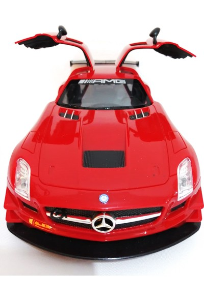 Furkan Mercedes-Benz Sls Amg Gt3 Uzaktan Kumandalı Araba Kırmızı