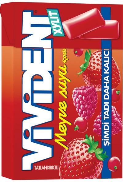 Vivident Box Meyve Suyu 20 Adet x 22GR